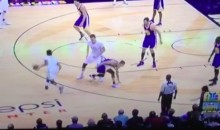 Steph Curry Gets Burned By a Emannuel Muiday Crossover (Video)