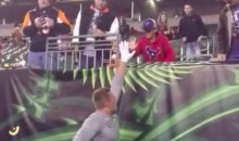 J.J. Watt Plays Catch with Kid Before Last Night's Bengal's Game (Video)