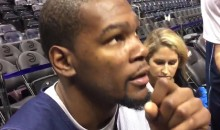 Kevin Durant Goes Off on Kobe Bryant's Haters (Video)