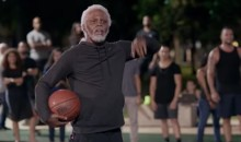 Kyrie Irving's Uncle Drew Returns to Play HORSE with Ray Allen (Video)