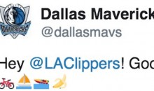 Mavs Troll Clippers, DeAndre Jordan With Twitter Emojis After Win