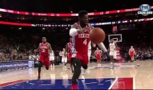 Nerlens Noel Fast-Break Turns Into Epic Fail (Video)