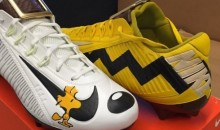 Odell Beckham Rocked Some 'Peanuts'-Themed Cleats Before Game vs. Redskins  (Pics)