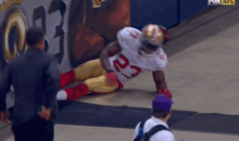 Reggie Bush Suffers Knee Injury After Slipping On Concrete (Video)