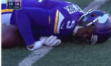 Teddy Bridgewater Gets Knocked Out On This Hit By Lamarcus Joyner (Video)