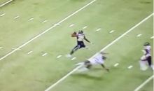 Todd Gurley Shows Off His Ups With Sick Hurdle Over Antrel Rolle (Video)