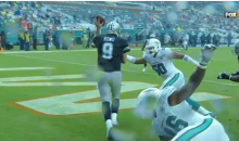 Tony Romo Avoids Safety With Sick Left-Handed Completion (Video)