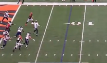Nick Foles Throws Embarrassingly Easy Pick-Six (Video)