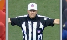 Ref Confirms Completed Catch, Immediately Changes Mind and Calls Incomplete Pass (Video)