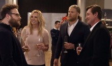 Seth Rogen Is the Only Canadian Unfamiliar with Wayne Gretzky at this Holiday Party (Video)