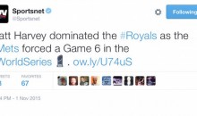 SportsNet Jumps The Gun, Declares Mets Game 5 Winners Before Royals Tie It Up