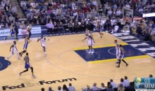 Steph Curry Hit Not One, But Two Ridiculous Three-Pointers (Videos)