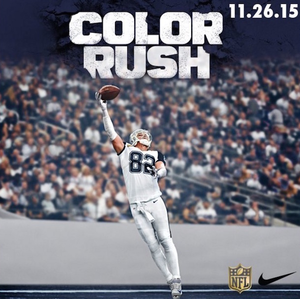 Thanksgiving Color Rush uniforms cowboys