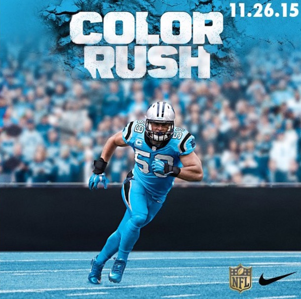 Thanksgiving Color Rush uniforms panthers