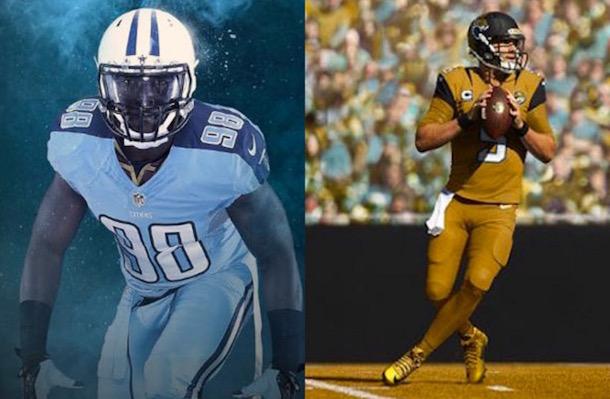 Titans Jaguars Color Rush