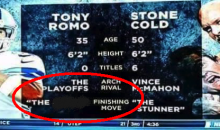 NESN Has No Chill For Tony Romo… LMAO! (PIC)