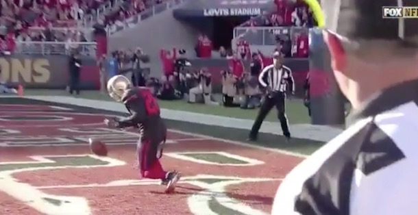 Tramaine Brock Drops EAsy INT