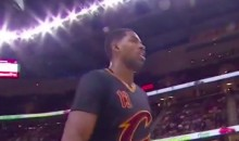 Tristan Thompson Drops An F-Bomb on the Courtside Microphone (Video)
