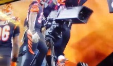 Bengals LB Vontaze Burfict Takes Out NFL Network Camera (Video)