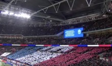 Wembley Stadium Sings French Anthem Prior to France-England Friendly (Video)