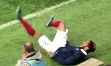 Aston Villa's Jordan Amavi Suffers Gruesome Knee Injury During U-21 Euro Qualifier (Video)
