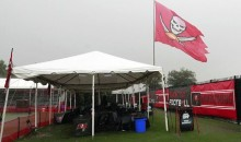 Giants Fan Arrested After Trying to Burn Down the Buccaneers' $25,000 Flag