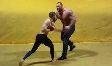 Let's Watch UFC Featherweight Conor McGregor Spar With The Mountain From 'Game Of Thrones' (Video)