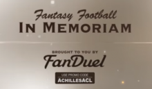 NFL Fantasy Football Tribute To This Years Fallen Players (Video)