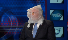 Former Pennsylvania Governor Wears Bag over Head After Eagles' Latest Loss (Vid)