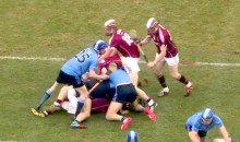 Epic Brawl Erupts During Fenway Hurling Match Between Dublin and Galway (Videos)