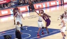 This Kobe Bryant Finger Roll Airball Will Leave You Shaking Your Head (Videos)
