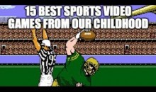 15 Best Sports Video Games From Our Childhood (Video)