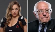 Ronda Rousey Endorses Bernie Sanders For President