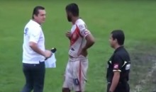 Idiot Soccer Ref Ejects Commentator for Criticizing His Calls (Video)