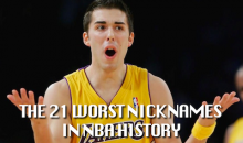 21 Worst Nicknames in the NBA History (Video)