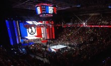 WWE Honors Victims of Paris Terror Attacks with Moment of Silence Before Monday Night Raw (Video)