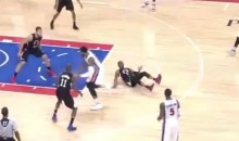 Andre Drummond Breaks Chris Paul's Ankles With Behind-The-Back Crossover (Video)