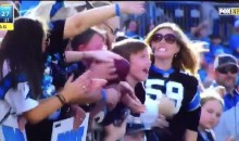 Female Panthers Fan Can't Believe She Didn't Get That Ball (Video)