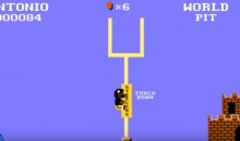 Antonio Brown Goal-Post TD Celebration Gets Super Mario Treatment (Video)