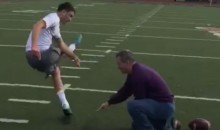 Kicker Committed to Alabama Hits a 77-Yard Fied-Goal (Video)
