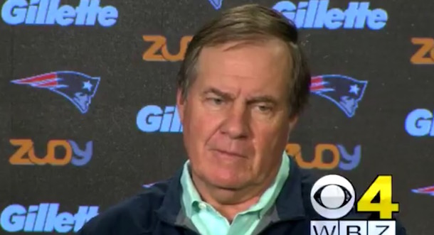 Bill Belichick angry press conference