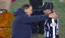 Bill Belichick Gets Handsy With Female Official (Pic)