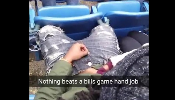 Bills Fan Handjob