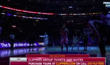 Blake Griffin Doesn't Need Lights to Hit a Free Throw (Video)