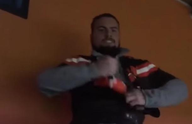 Browns fan reaction