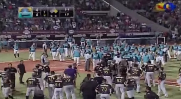 Bruce Rondon Bench-Clearing Brawl