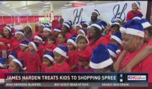 James Harden Takes 20 Single Mothers Holiday Shopping (Video)