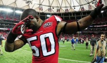 Falcons LB Schofield On The Panthers: They Have No Class, So I Dabbed On Them