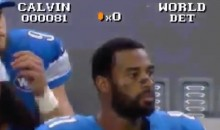 Calvin Johnson's Reaction to Packers' Hail Mary TD Gets Super Mario Treatment (Video)