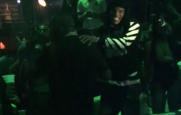 Cam Newton Rick Ross Party Strip Club